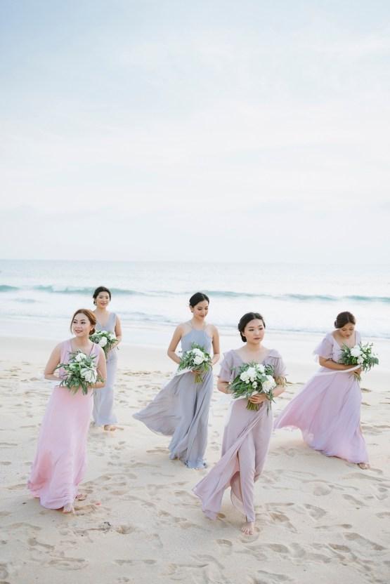 The Dreamiest Sunset Beach Wedding in Thailand | Darin Images 43
