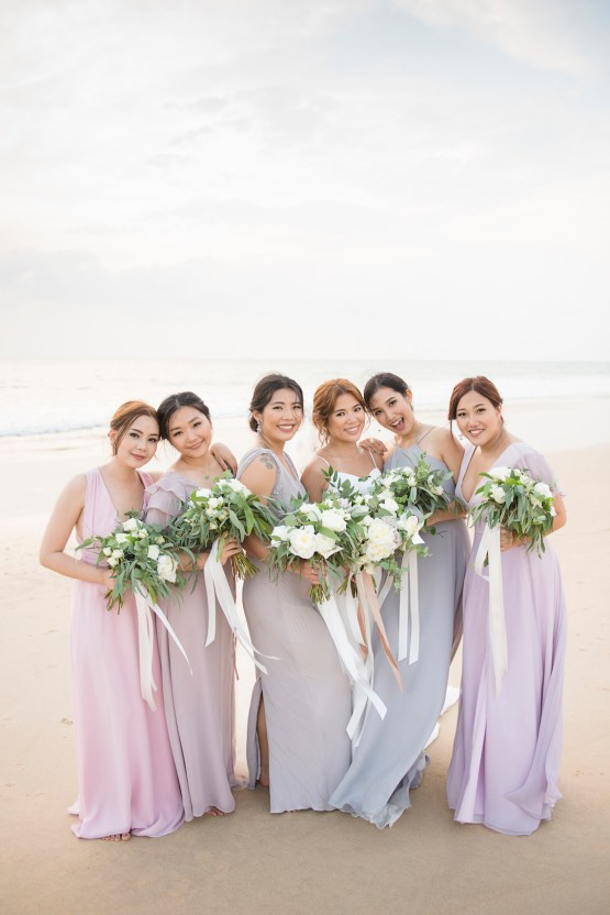 The Dreamiest Sunset Beach Wedding in Thailand | Darin Images 44