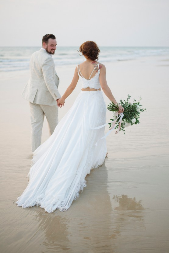 The Dreamiest Sunset Beach Wedding in Thailand | Darin Images 45