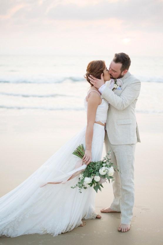 The Dreamiest Sunset Beach Wedding in Thailand | Darin Images 46