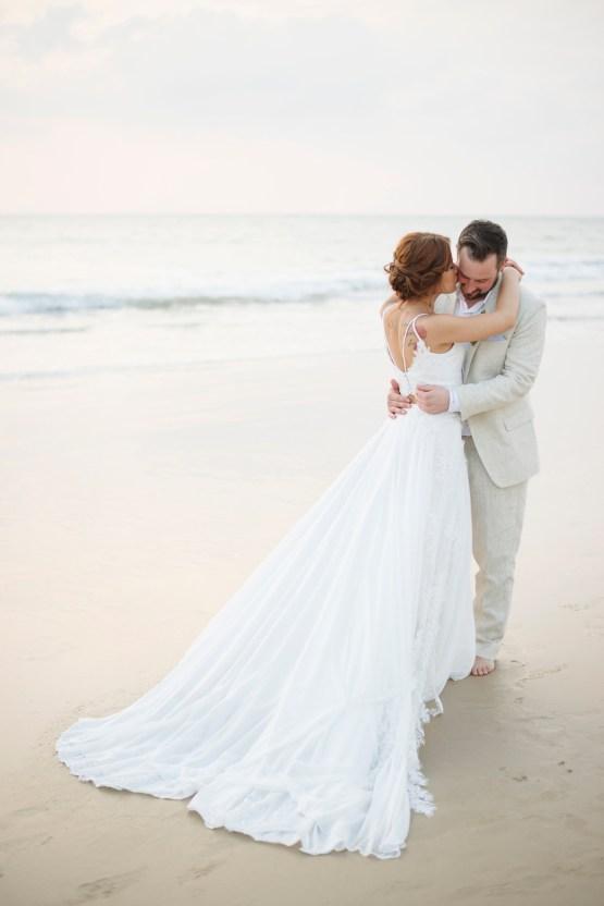 The Dreamiest Sunset Beach Wedding in Thailand | Darin Images 54