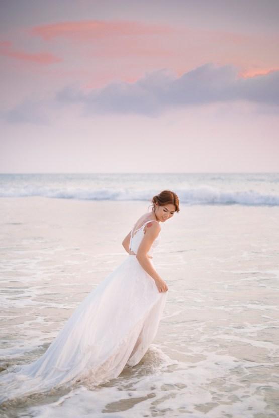 The Dreamiest Sunset Beach Wedding in Thailand | Darin Images 55