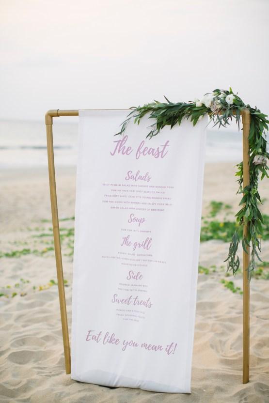 The Dreamiest Sunset Beach Wedding in Thailand | Darin Images 56