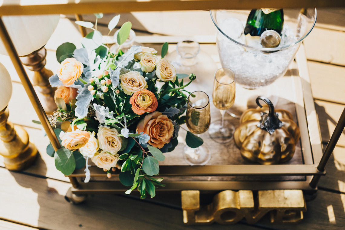 The Sweetest Autumnal Elopement Inspiration (On A Rooftop!) | Rachel Brown Kulp Photography 3