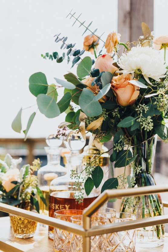 The Sweetest Autumnal Elopement Inspiration (On A Rooftop!) | Rachel Brown Kulp Photography 34