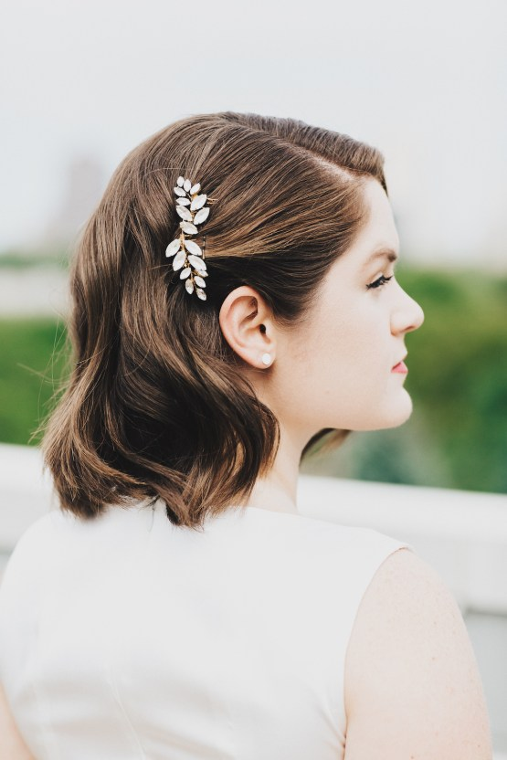 The Sweetest Autumnal Elopement Inspiration (On A Rooftop!) | Rachel Brown Kulp Photography 40