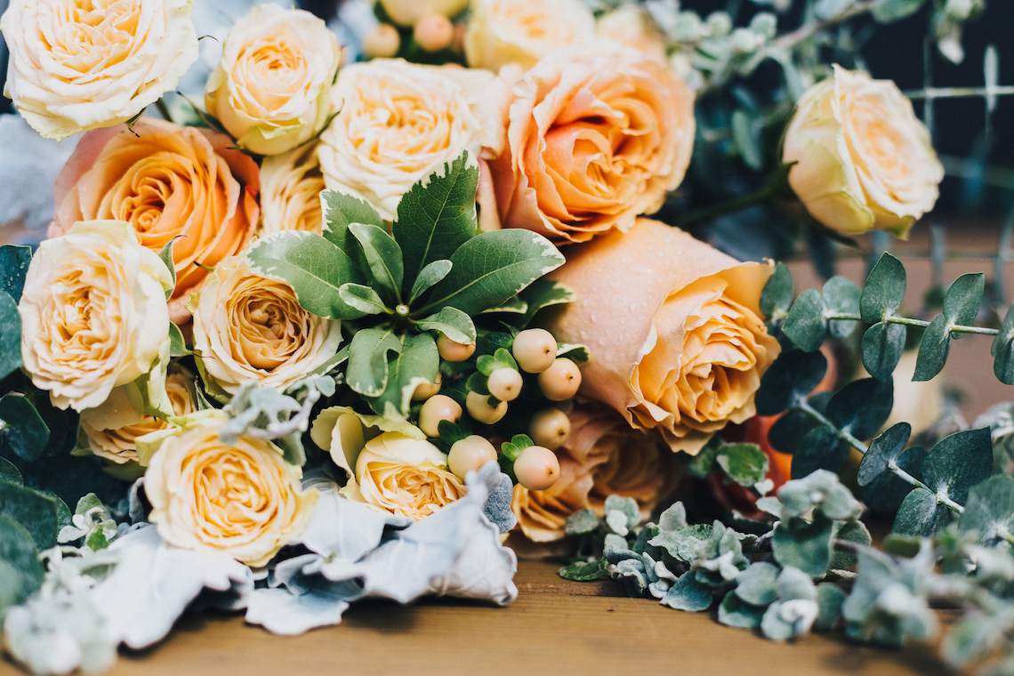 The Sweetest Autumnal Elopement Inspiration (On A Rooftop!) | Rachel Brown Kulp Photography 7