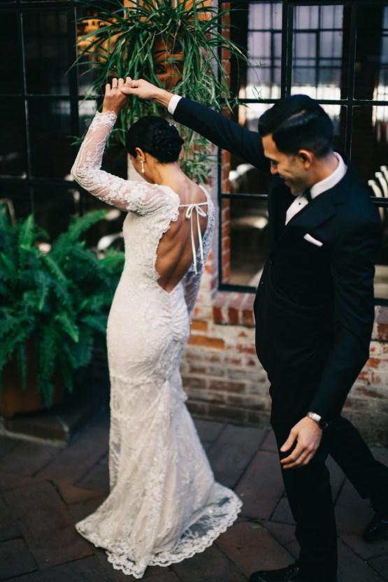 Warm Winter Wedding in a Hidden Los Angeles Italian Villa | Amanda McKinnon 35
