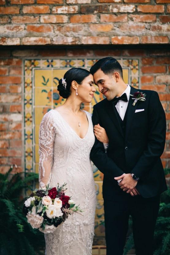 Warm Winter Wedding in a Hidden Los Angeles Italian Villa | Amanda McKinnon 43