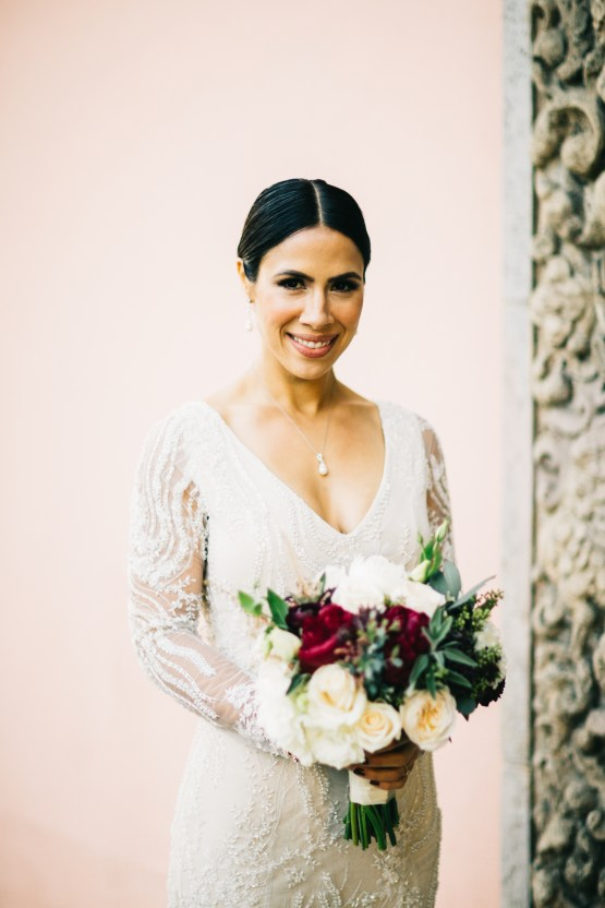 Warm Winter Wedding in a Hidden Los Angeles Italian Villa | Amanda McKinnon 47