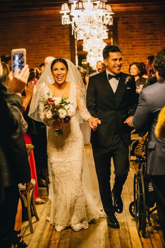 Warm Winter Wedding in a Hidden Los Angeles Italian Villa | Amanda McKinnon 59