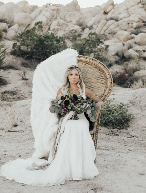 Boho Chic Elopement Inspiration with a Cool Teepee Altar | Maya Lora Photography 10
