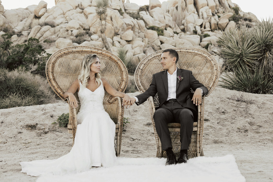Boho Chic Elopement Inspiration with a Cool Teepee Altar | Maya Lora Photography 30
