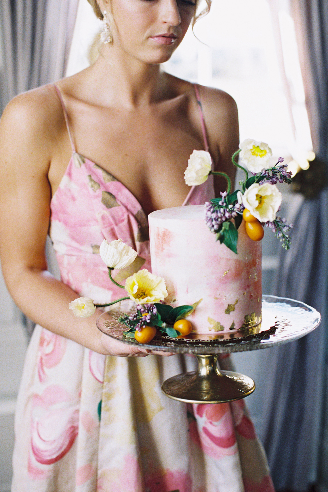Bright & Colorful Wedding Inspiration With An Incredible Floral Dress | Rosencrown Photography 20