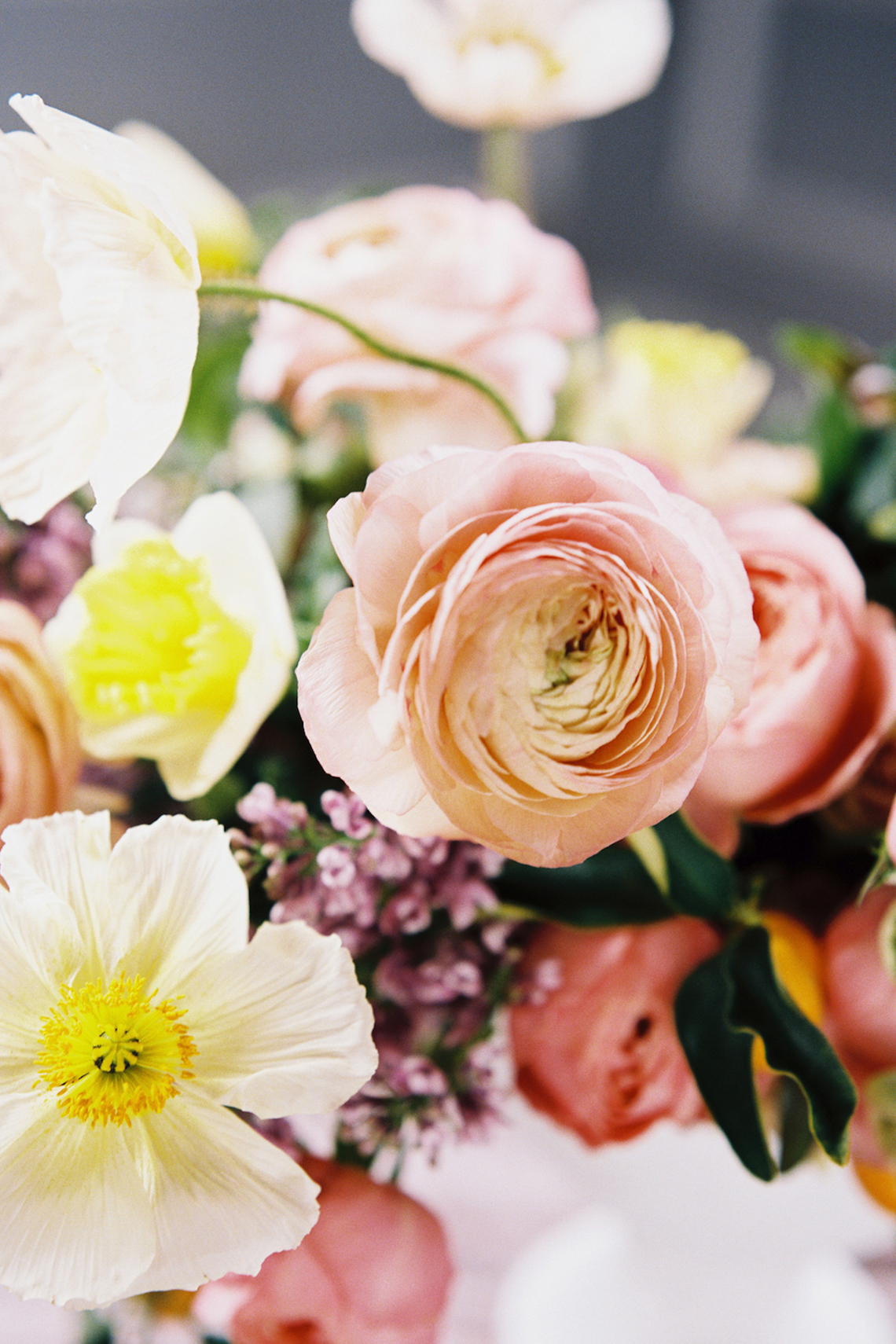 Bright & Colorful Wedding Inspiration With An Incredible Floral Dress | Rosencrown Photography 21