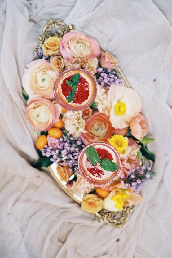 Bright & Colorful Wedding Inspiration With An Incredible Floral Dress | Rosencrown Photography 36