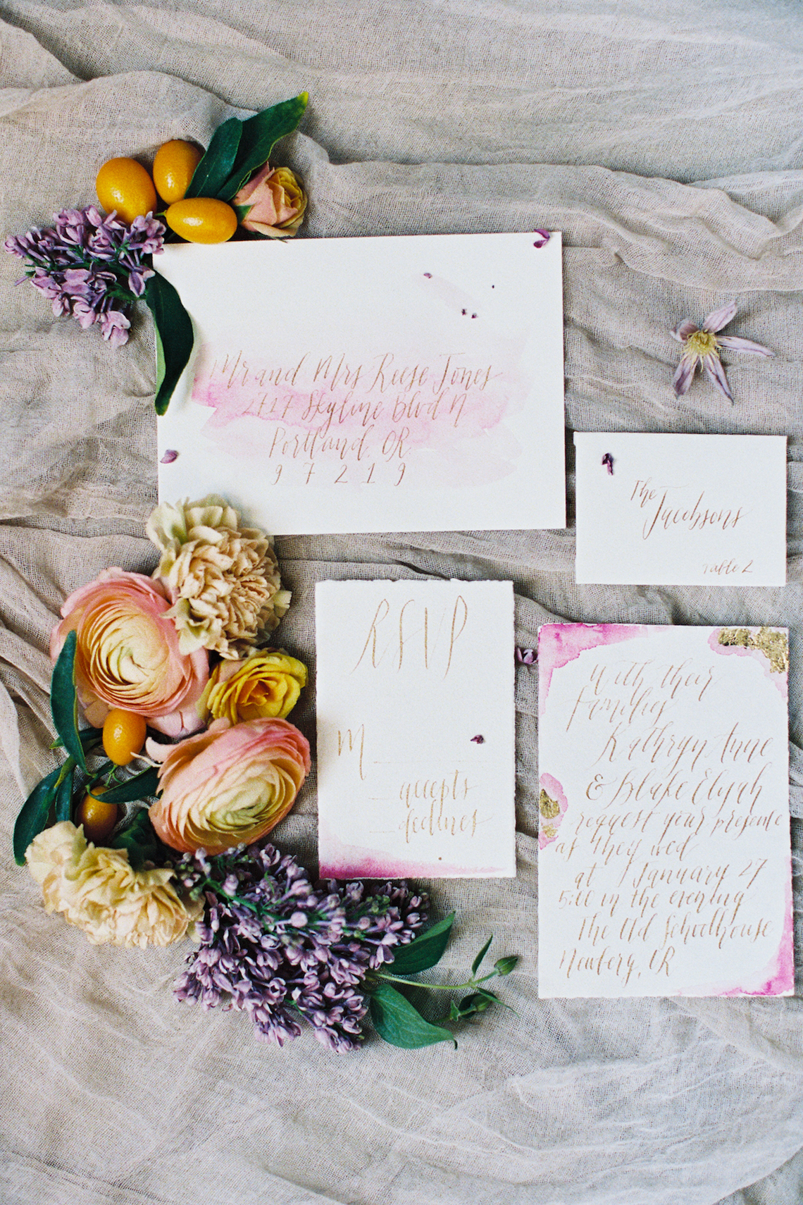 Bright & Colorful Wedding Inspiration With An Incredible Floral Dress | Rosencrown Photography 46