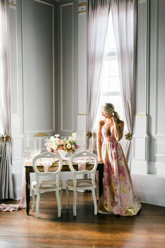 Bright & Colorful Wedding Inspiration With An Incredible Floral Dress | Rosencrown Photography 7