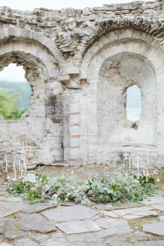 Calm, Ethereal & Romantic Lake Como Wedding Inspiration | Valentina Operandi 38