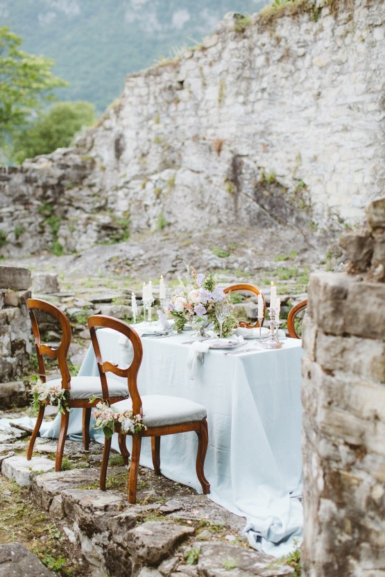 Calm, Ethereal & Romantic Lake Como Wedding Inspiration | Valentina Operandi 45