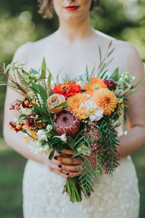 Colorful & Eclectic Americana Wedding in Texas | Amber Vickery Photography 39