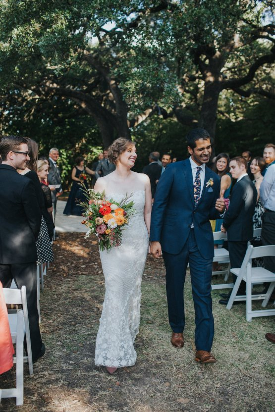Colorful & Eclectic Americana Wedding in Texas | Amber Vickery Photography 42