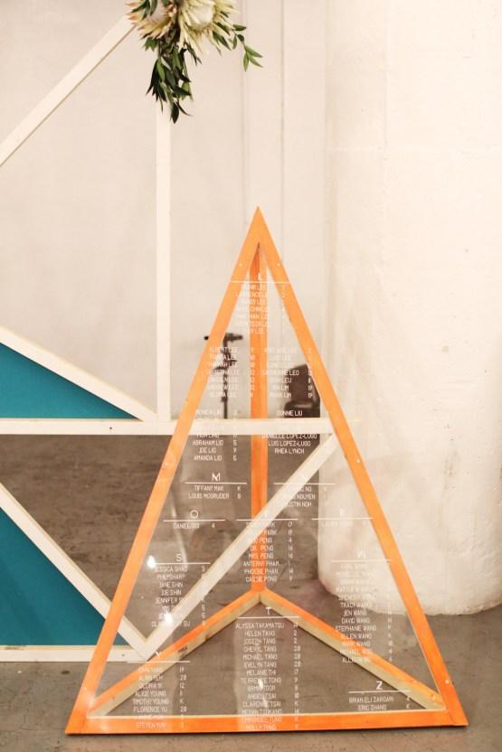 Colorful Rooftop Wedding With Geometric Modern Designs | Christian + Reinna Cruz 69