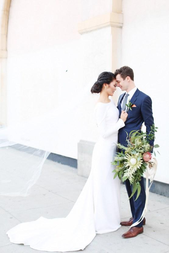 Colorful Rooftop Wedding With Geometric Modern Designs | Christian + Reinna Cruz 70