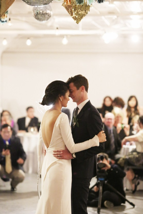Colorful Rooftop Wedding With Geometric Modern Designs | Christian + Reinna Cruz 74