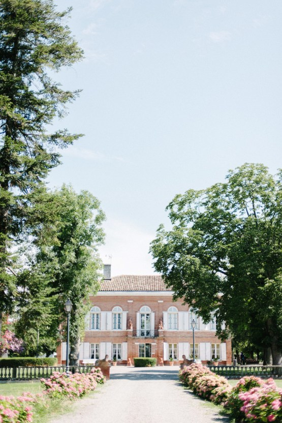 Dreamy Pink Wedding In France | Marion Heurteboust 13
