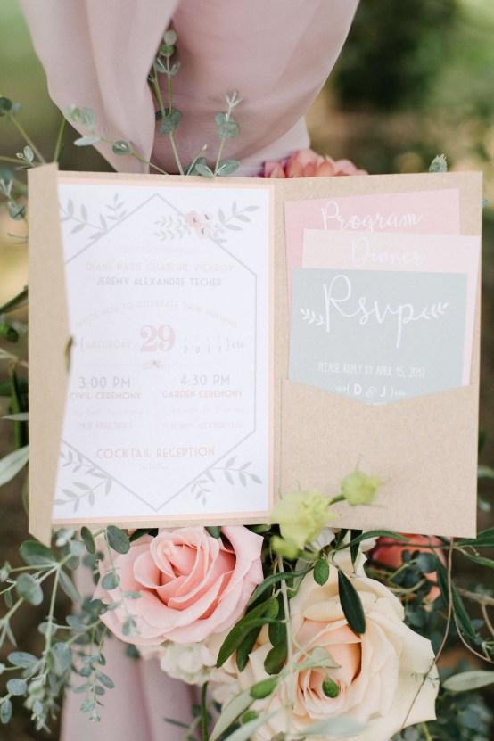 Dreamy Pink Wedding In France | Marion Heurteboust 15