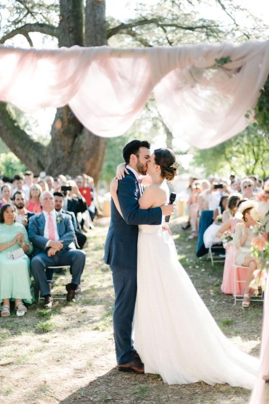 Dreamy Pink Wedding In France | Marion Heurteboust 43