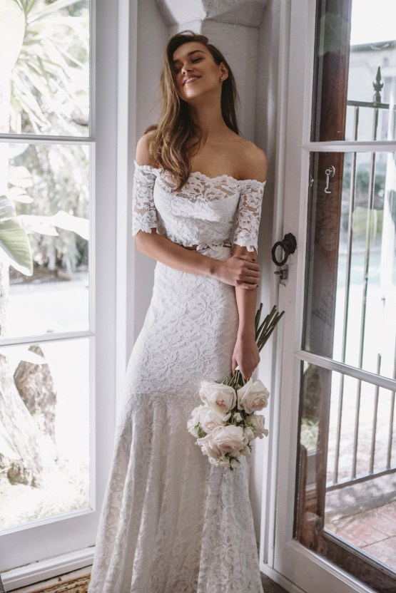 Hey Rebellious Brides, Grace Loves Lace Released A New Collection Just For You! | Everly Gown 1