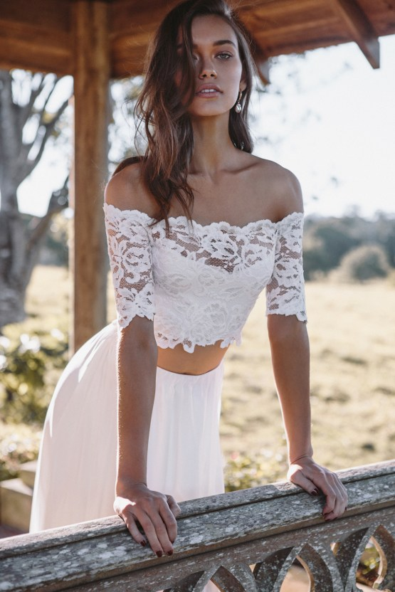 Hey Rebellious Brides, Grace Loves Lace Released A New Collection Just For You! | Luna Gown 3
