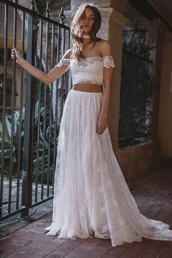 Hey Rebellious Brides, Grace Loves Lace Released A New Collection Just For You! | Perla Gown 6