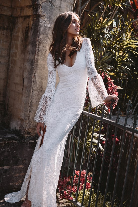 Hey Rebellious Brides, Grace Loves Lace Released A New Collection Just For You! | Piper Gown 2