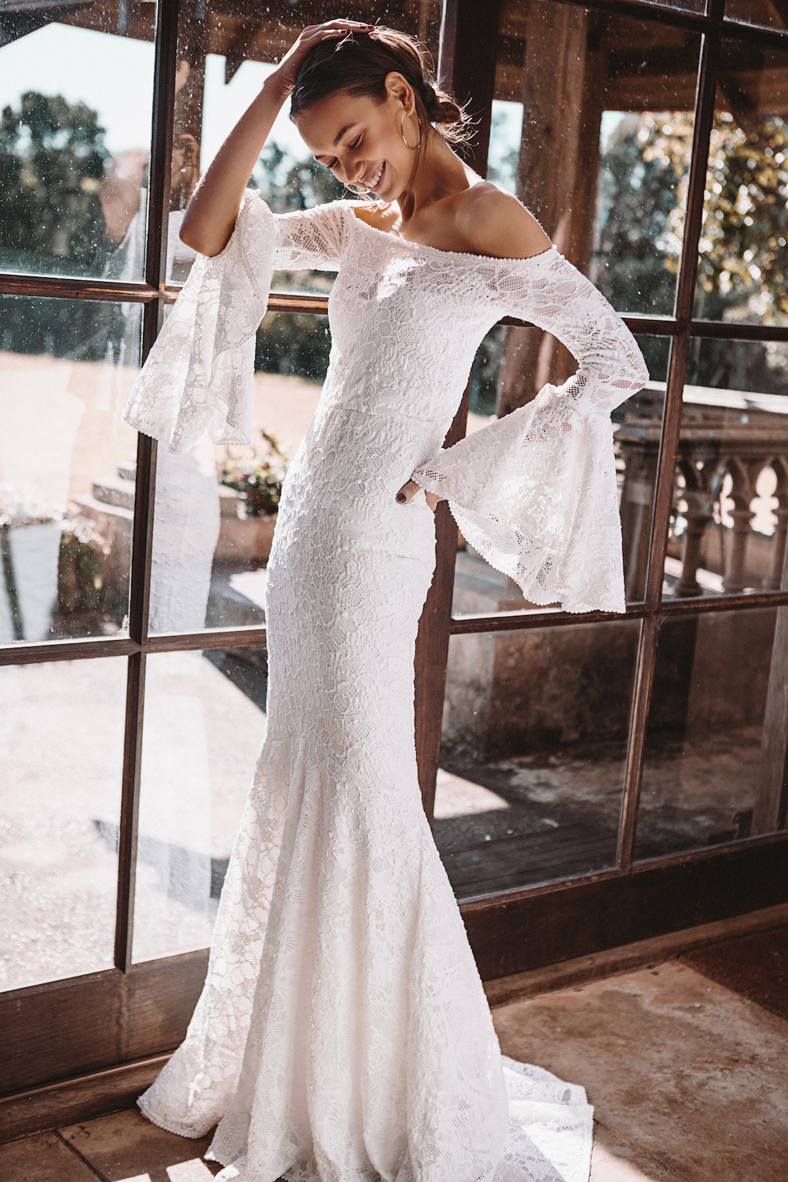 Hey Rebellious Brides, Grace Loves Lace Released A New Collection Just For You! | Sloane Gown 2