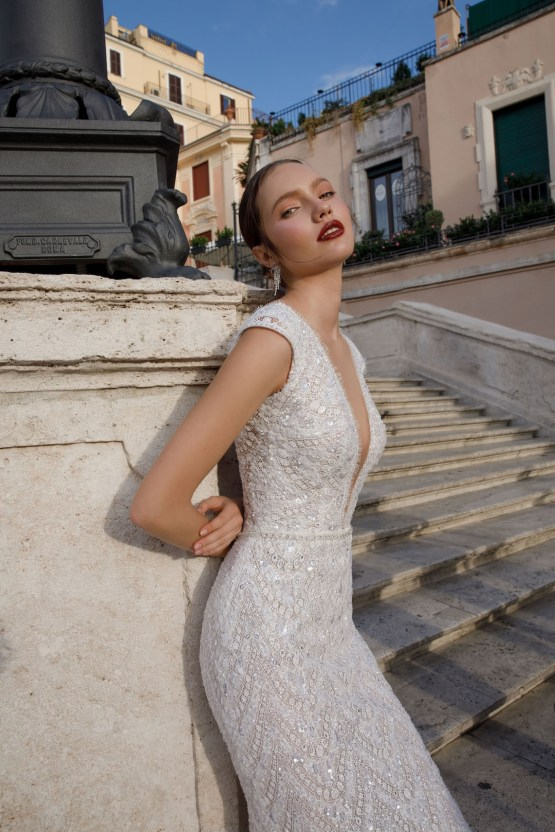 The Glamourous & Luxurious Ever After Wedding Dress Collection By Birenzweig 15