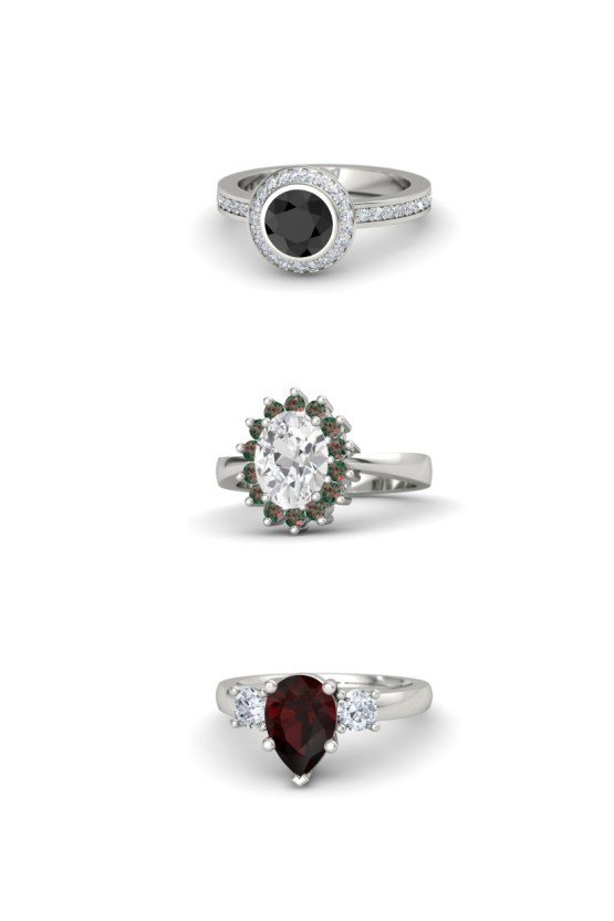 Which Engagement Ring Fits Your Personal Style? | Alternative Rings Gemvara