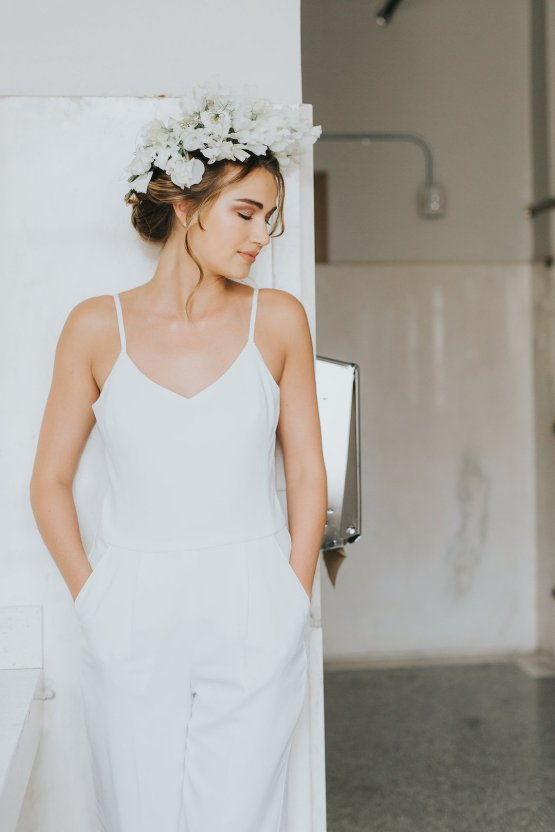 Cool Courthouse Wedding Inspiration Featuring A Bridal Jumpsuit   Rachel Birkhofer Photography 10