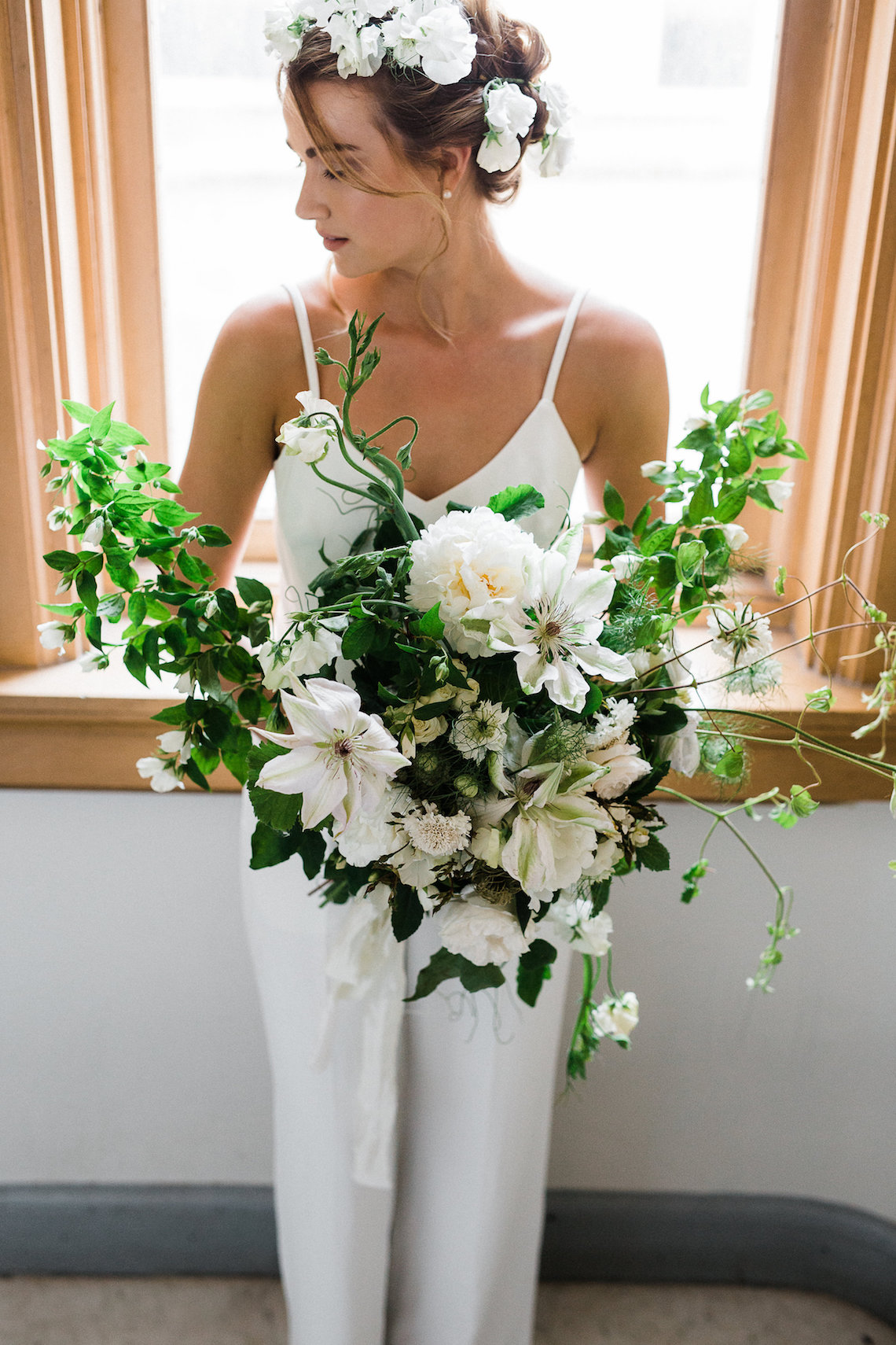 Cool Courthouse Wedding Inspiration Featuring A Bridal Jumpsuit   Rachel Birkhofer Photography 26