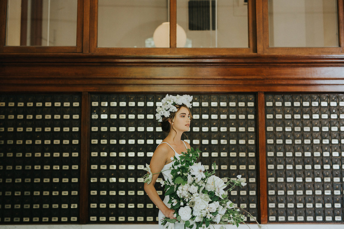 Cool Courthouse Wedding Inspiration Featuring A Bridal Jumpsuit   Rachel Birkhofer Photography 34