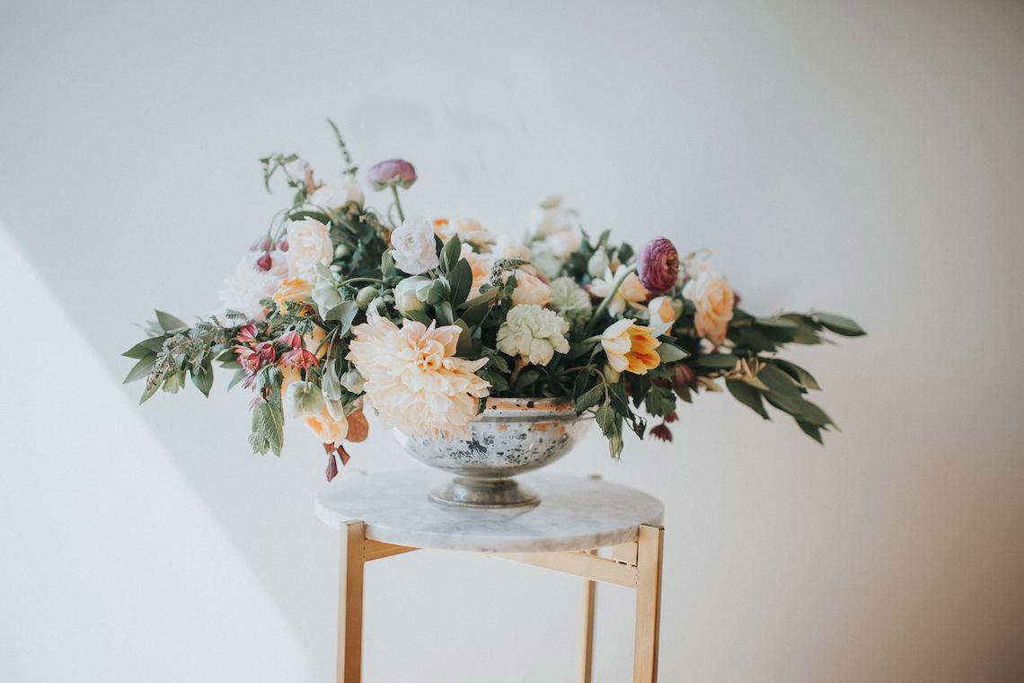 Light & Airy Peach Wedding Inspiration with Bridal Separates | Sara Gatlin Photo 10