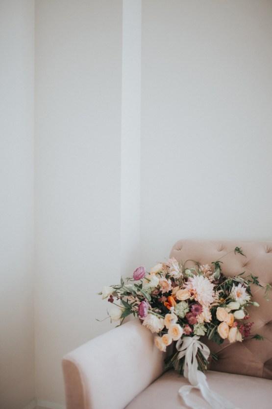 Light & Airy Peach Wedding Inspiration with Bridal Separates | Sara Gatlin Photo 22