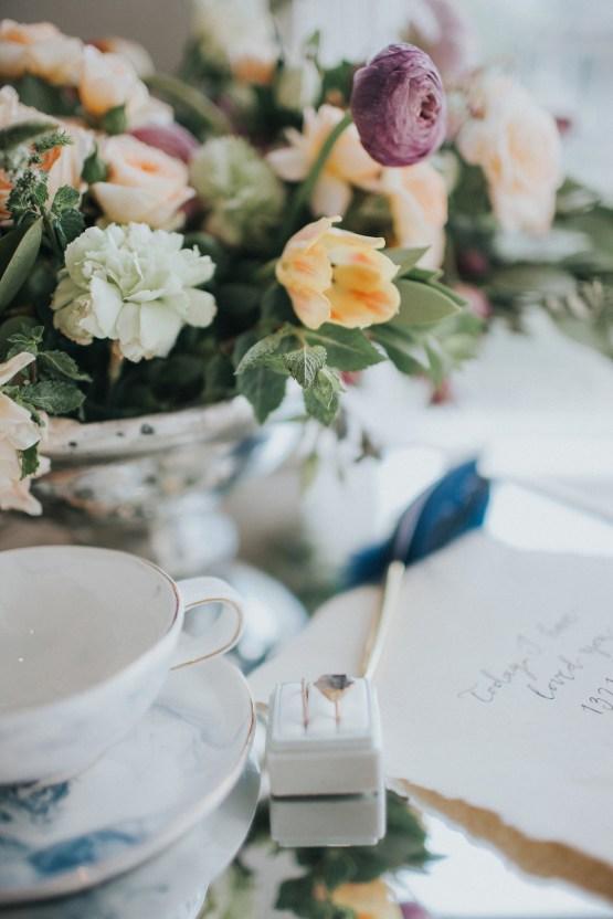 Light & Airy Peach Wedding Inspiration with Bridal Separates | Sara Gatlin Photo 25