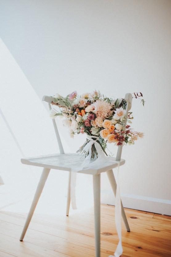 Light & Airy Peach Wedding Inspiration with Bridal Separates | Sara Gatlin Photo 36