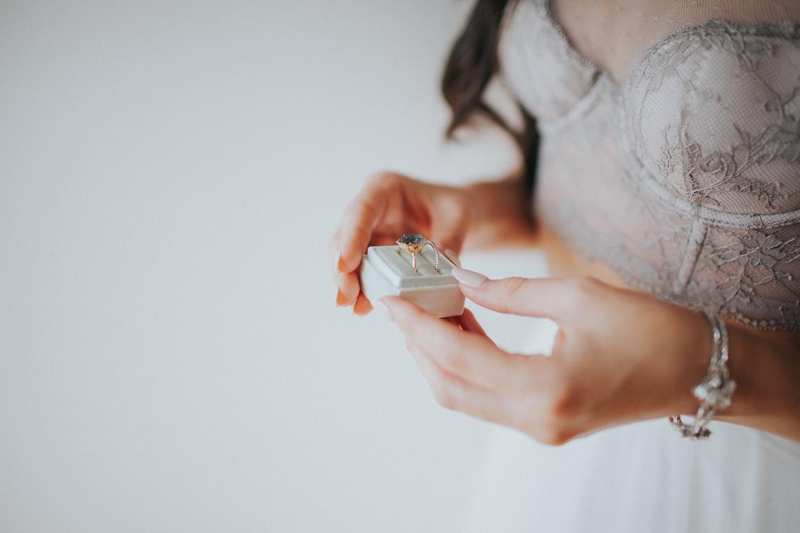 Light & Airy Peach Wedding Inspiration with Bridal Separates | Sara Gatlin Photo 7