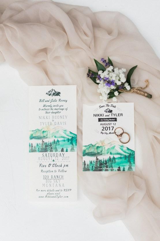 Rustic Montana Ranch Wedding | Emily Blumberg Photography 15