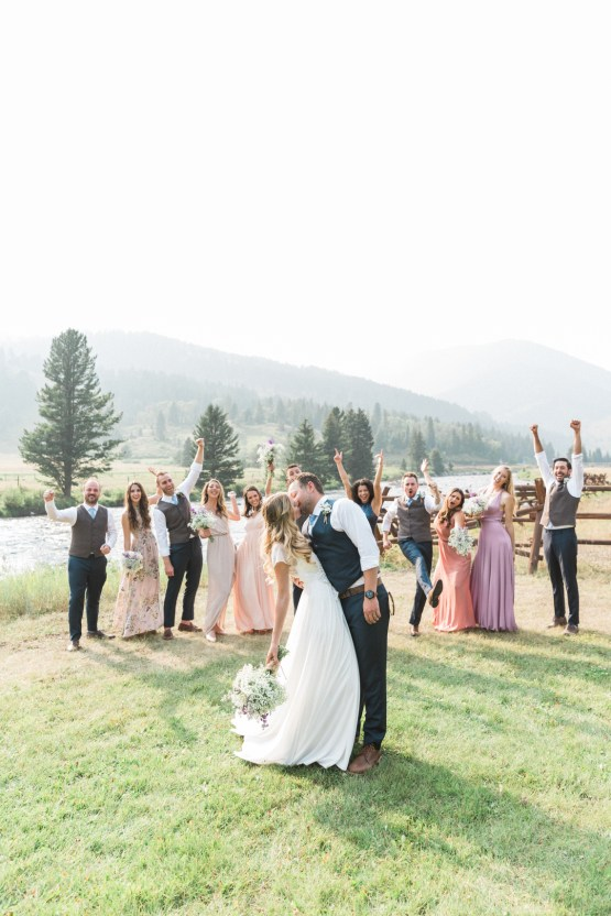 Rustic Montana Ranch Wedding | Emily Blumberg Photography 41