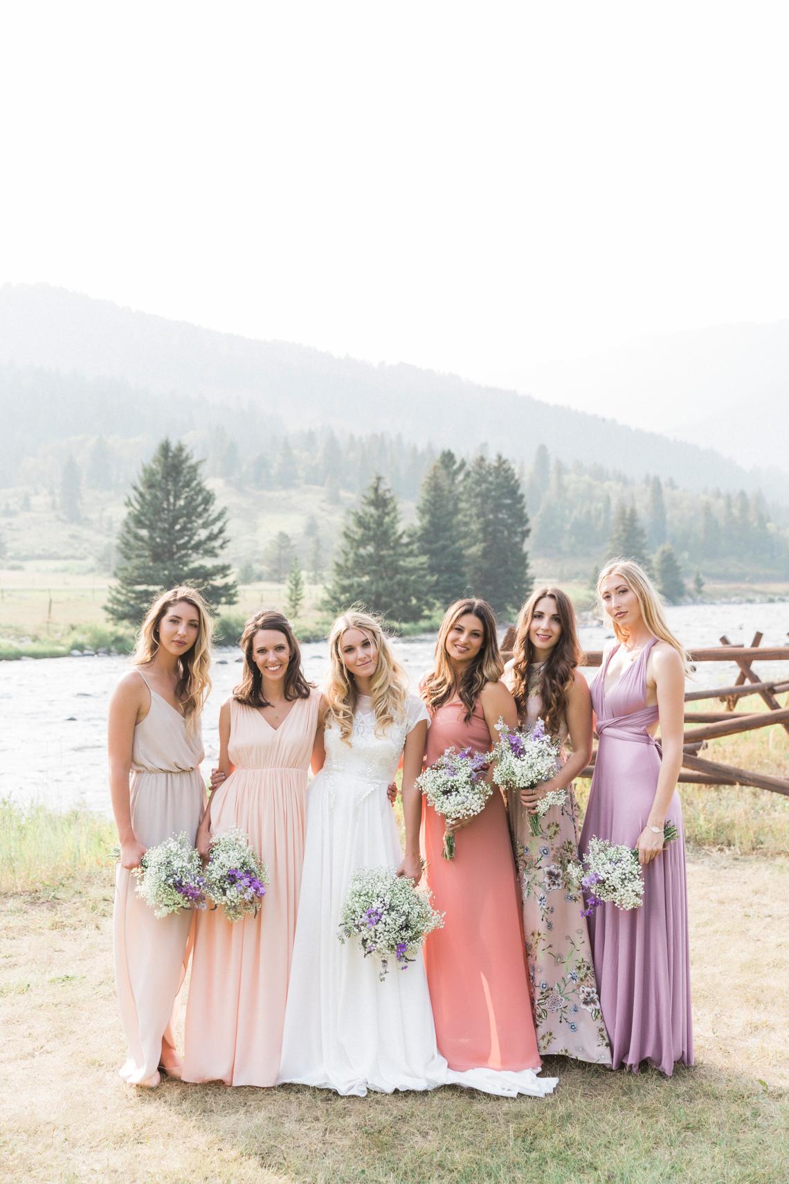 Rustic Montana Ranch Wedding | Emily Blumberg Photography 42